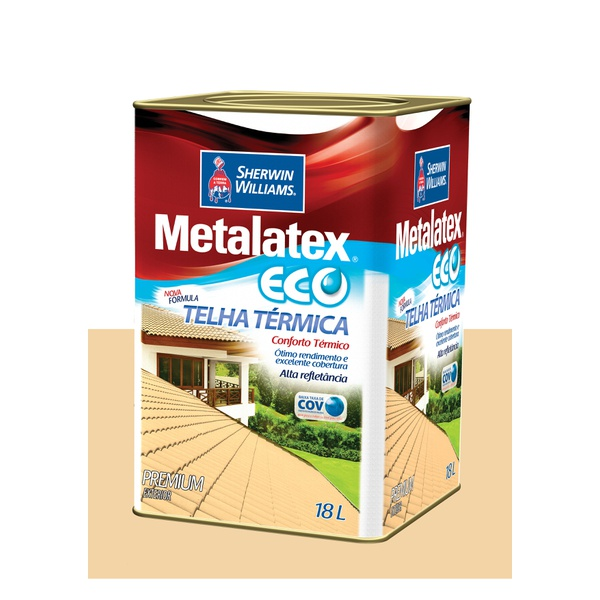 METALATEX RESINA ECO IMPERMEABILIZANTE CHAMPAGNE 18L