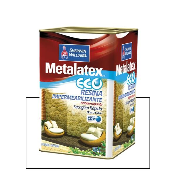 METALATEX RESINA ECO IMPERMEABILIZANTE INCOLOR 18L