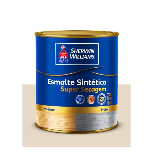 SHERWIN WILLIAMS ESMALTE SINTÉTICO SUPER SECAGEM GELO 900ML