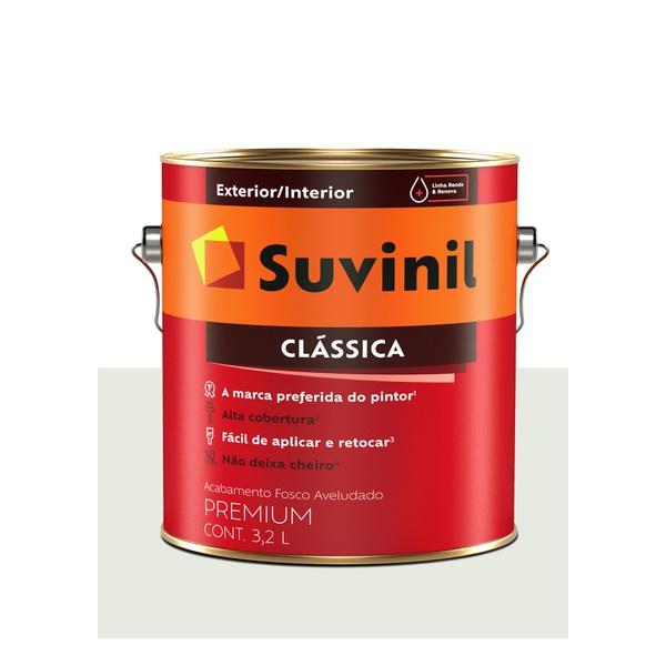 SUVINIL LÁTEX MAXX CLÁSSICA GELO FOSCO AVELUDADO 3,6L