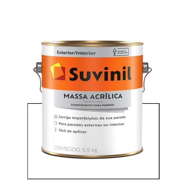 SUVINIL MASSA ACRÍLICA 5,7KG