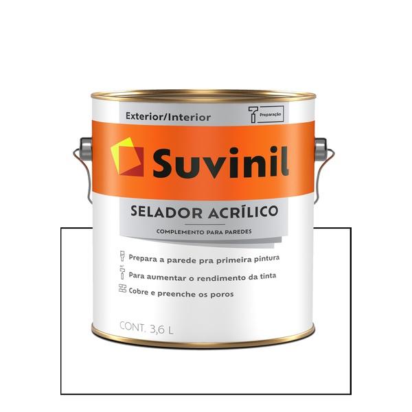 SUVINIL SELADOR ACRÍLICO 3,6L