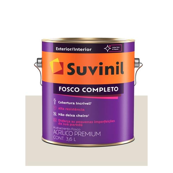 SUVINIL ACRILICO FOSCO COMPLETO ALGODÃO EGÍPCIO 3,6L