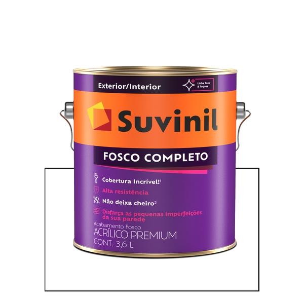 SUVINIL ACRILICO FOSCO COMPLETO BRANCO 3,6L