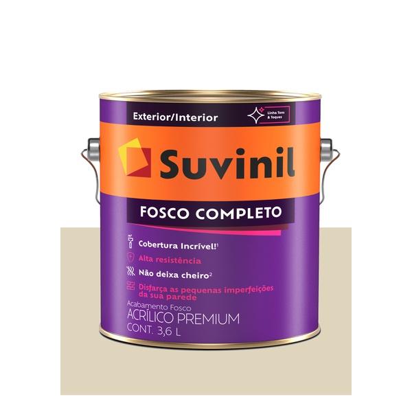 SUVINIL ACRILICO FOSCO COMPLETO PALHA 3,6L