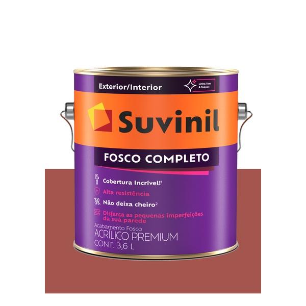 SUVINIL ACRILICO FOSCO COMPLETO TOMATE SECO 3,6L