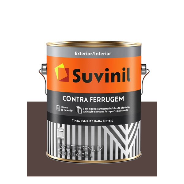 SUVINIL CONTRA FERRUGEM MARROM 3,6L