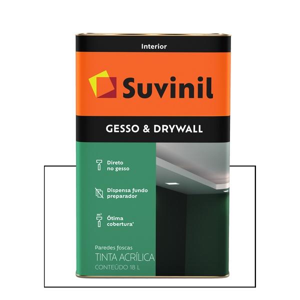 SUVINIL NOVO FUNDO GESSO DRYWALL 18L