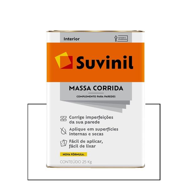 SUVINIL NOVA MASSA CORRIDA 25KG