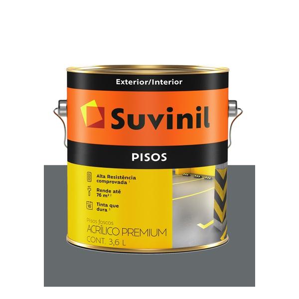 SUVINIL PISO CINZA ESCURO 3,6L