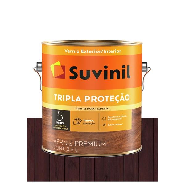 SUVINIL VERNIZ TRIPLO FILTRO SOLAR BRILHANTE MOGNO 3,6L