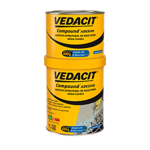 COMPOUND ADESIVO VEDACIT 1KG