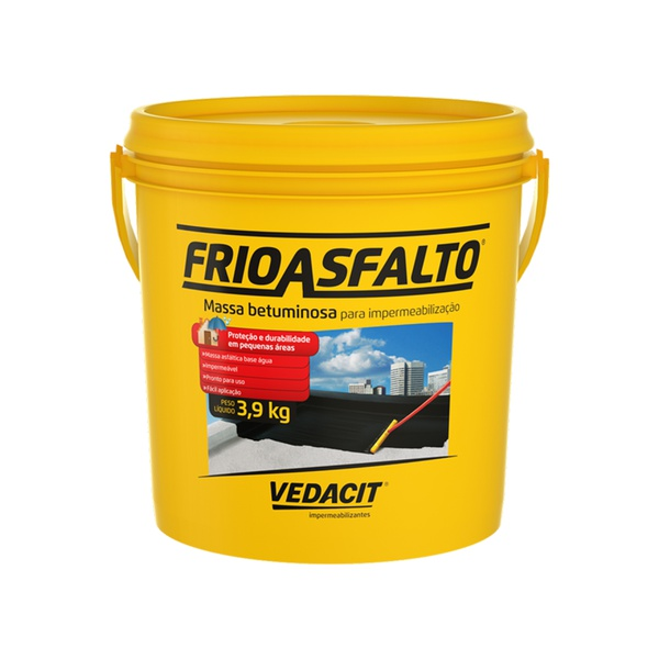 FRIO ASFALTO VEDACIT 3,9KG