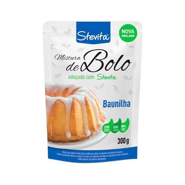 Mistura de Bolo Sabor Baunilha Stevita 300g