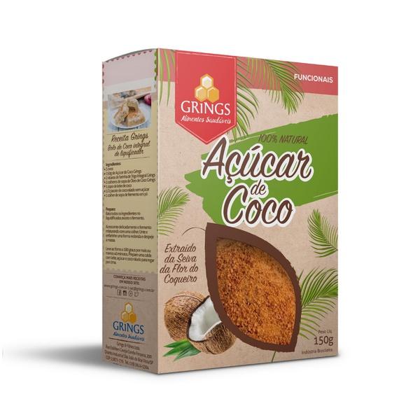 Açúcar De Coco 150g Grings