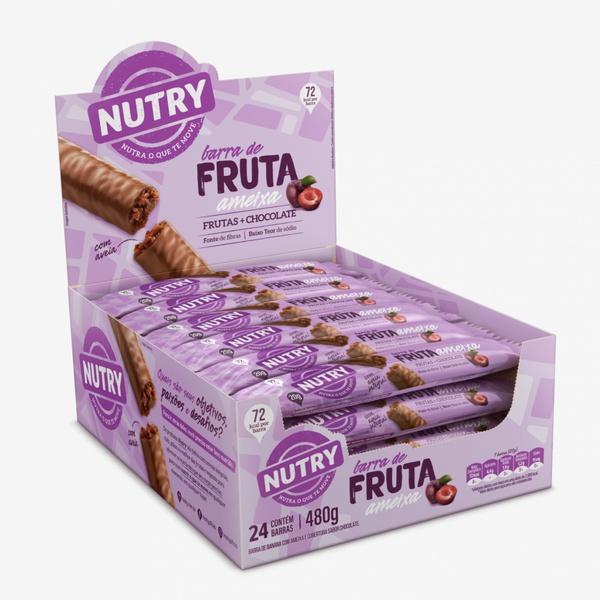 Barra de Frutas Nutry Ameixa 24x20g