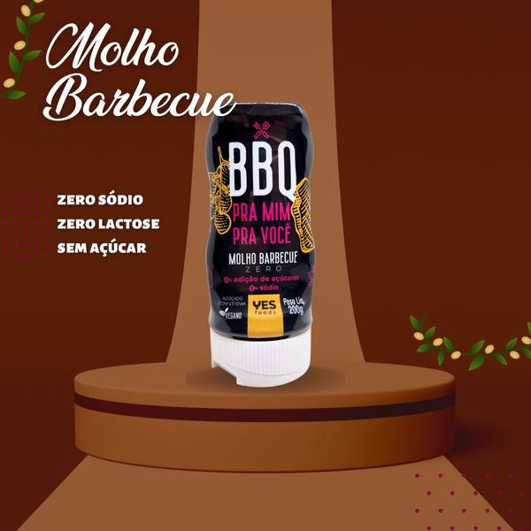 Barbecue Zero Vegano Yes Foods 200g