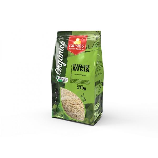 Farelo de Aveia Orgânica (oat Brain) 170 g