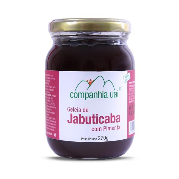 Geleia de Jabuticaba com Pimenta 270g - Cia Uai