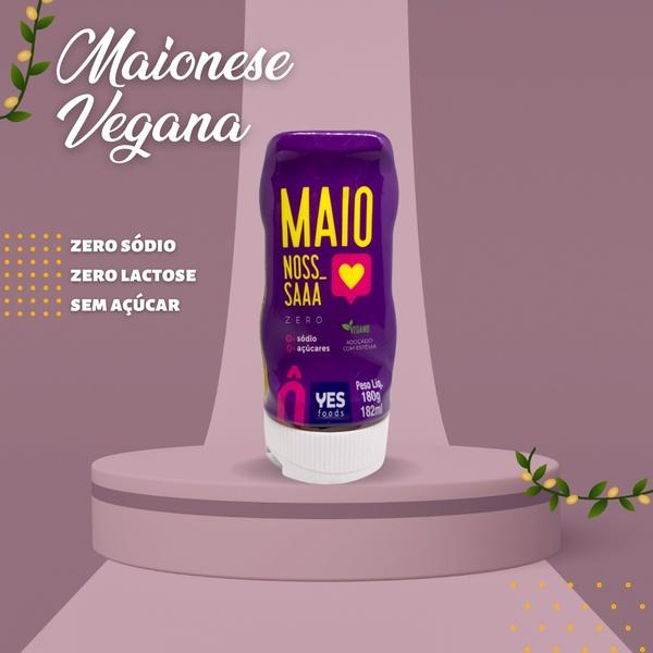 Maionese Zero Vegano Yes Foods 180g