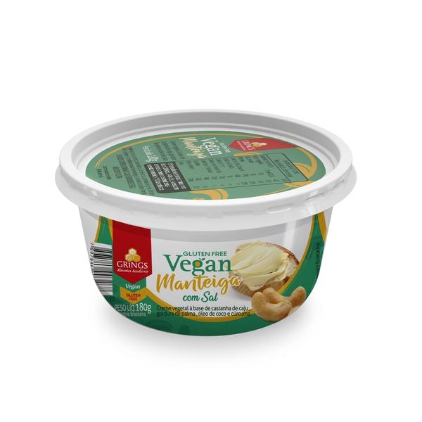 manteiga vegana Grings