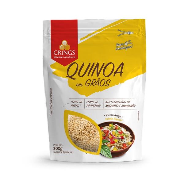 Quinoa Em Grãos 200g Grings