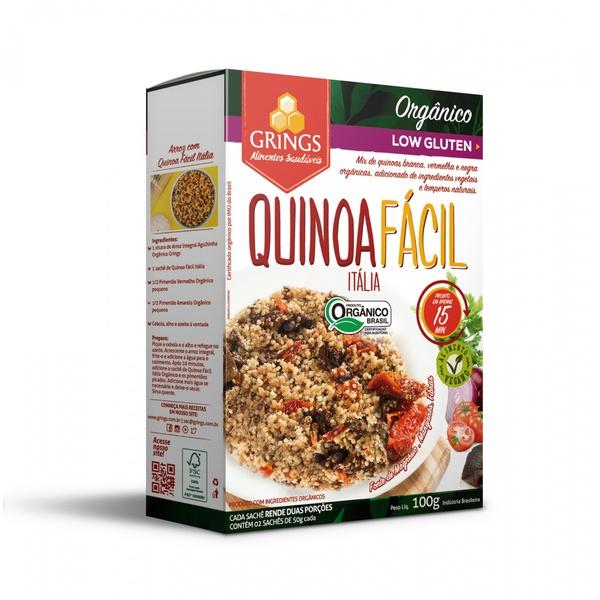 Quinoa Fácil Itália Orgânica 100g