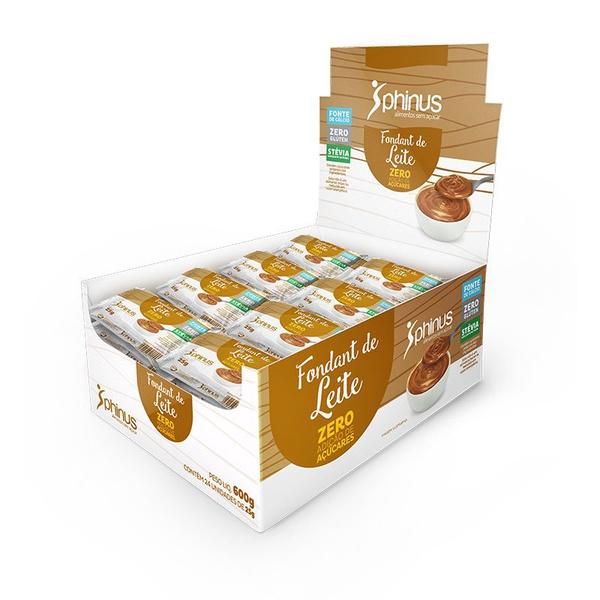 Fondant de Leite Zero Açúcar 24x25g