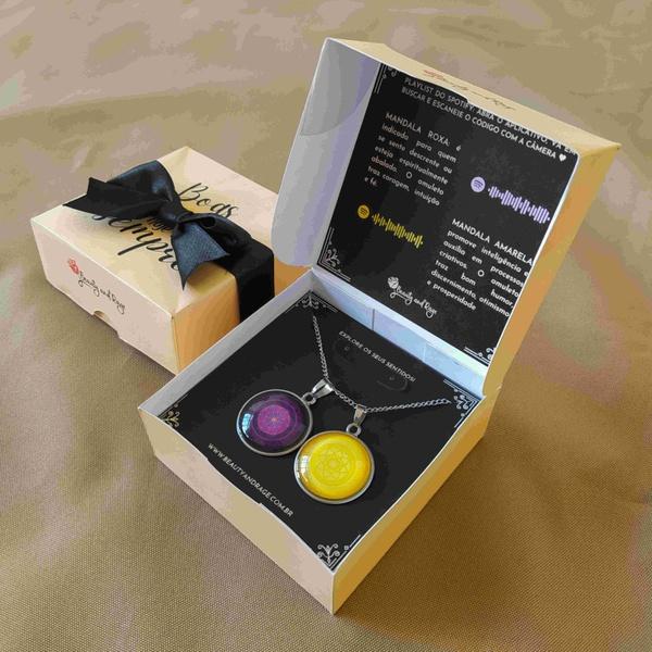 Kit De Mandala Para Fé e Prosperidade - Ideal Para Presente
