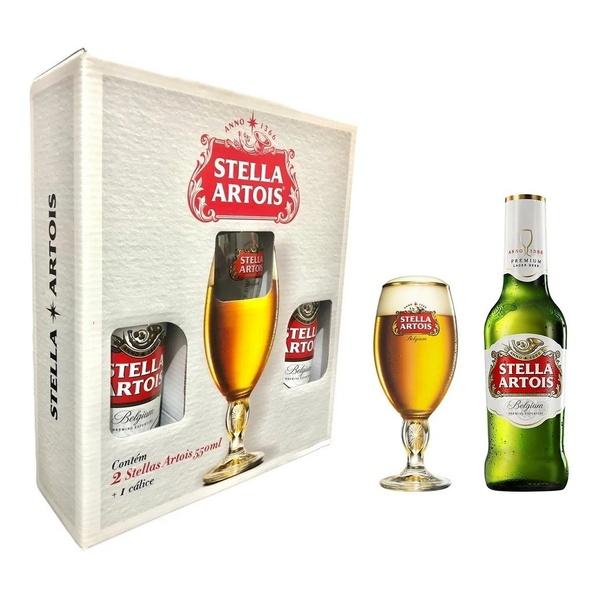 Kit Cerveja Stella 550ml C/ 2 - Calice