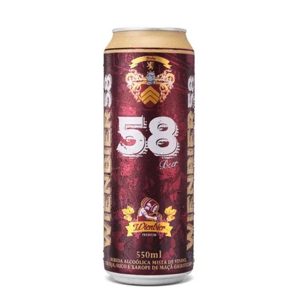 Cerveja Wienbier 58 Vinho 550ml