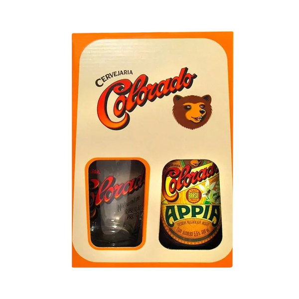 Kit Cerveja Colorado Appia 600ml