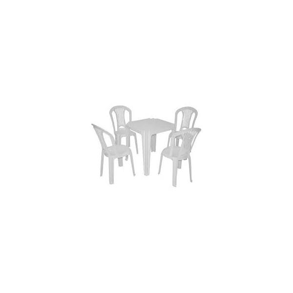 Locação - Kit mesa plastico