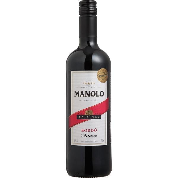 Vinho Manolo Tinto Suave 750ml