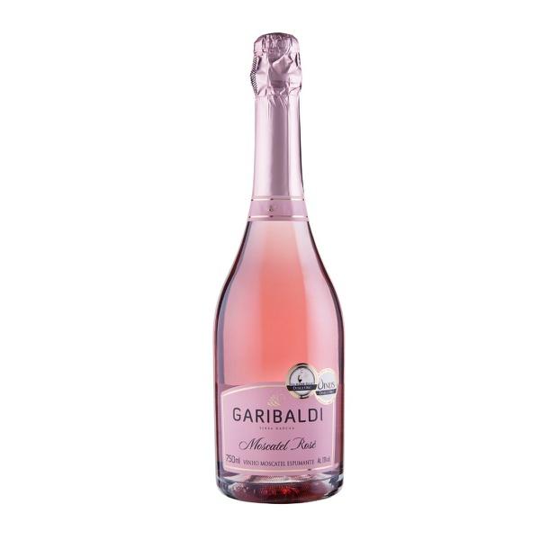Espumante Garibaldi Moscatel Rosé 750ml