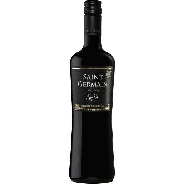 Vinho Saint Germain Merlot Demi Sec 750ml