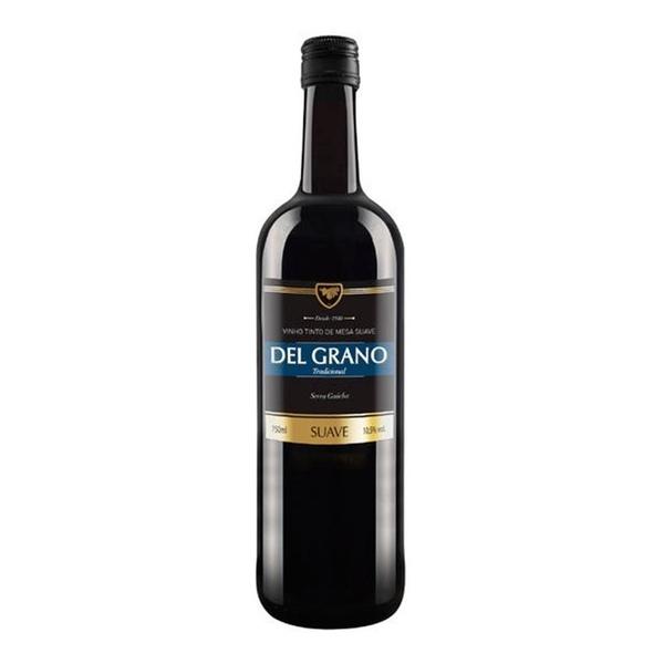 Vinho Del Grano Tinto Suave 750ml