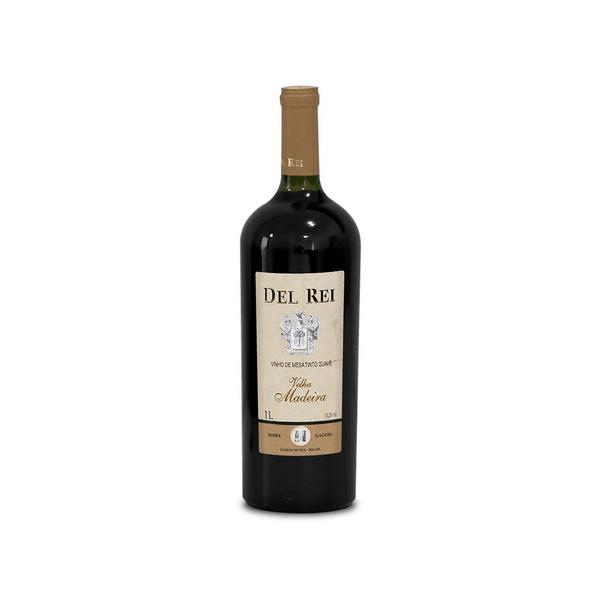 Vinho Del Rei Velha Madeira Tinto Suave 1L