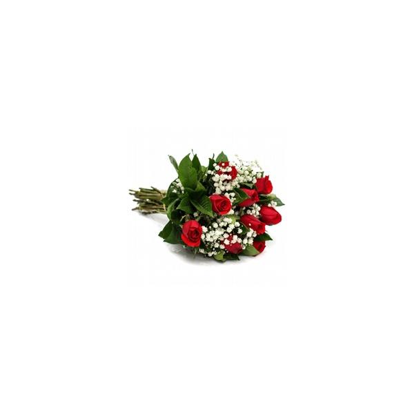 Buquê de Rosa Vermelha - 9 Unidades