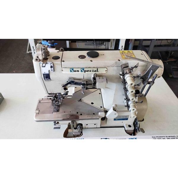 Máquina de Costura Galoneira Base Cilindrica com Catraca Sunspecial Usada