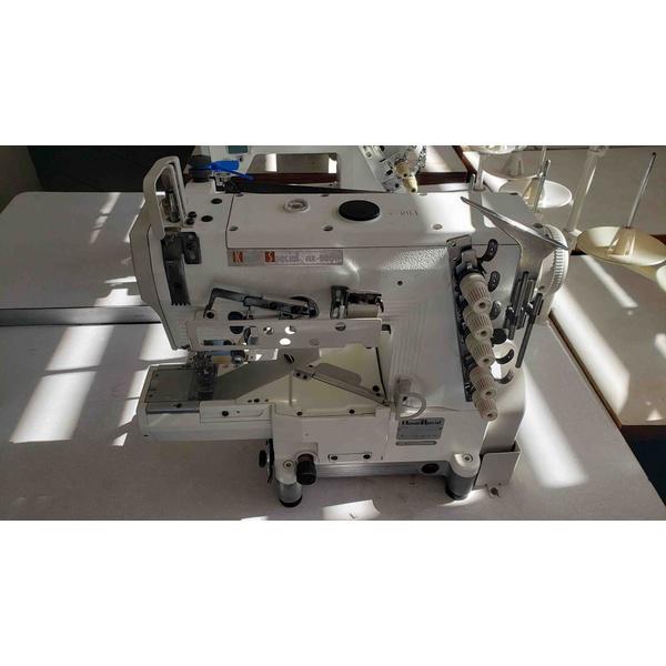 Máquina de Costura Galoneira Base Cilindrica Com Catraca Kansai Special Usada