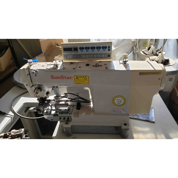 Máquina de Costurar Barra Eletrônica Sunstar Usada