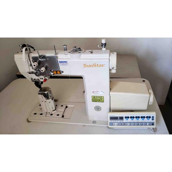 Máquina de Costura Coluna Eletrônica Sunstar 1 Agulha