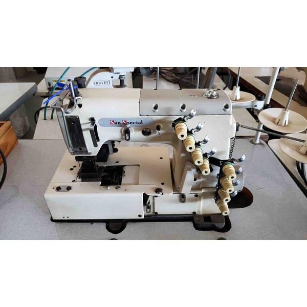Máquina de Costura Cós Reto Sunspecial Usada