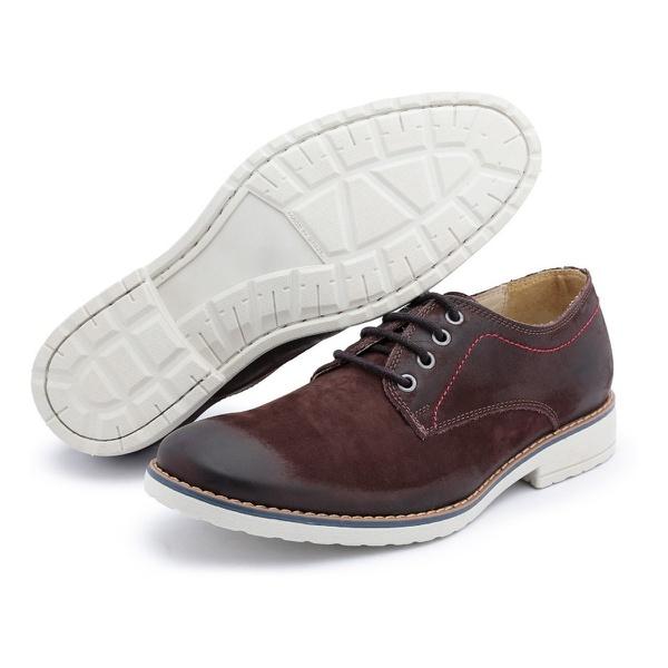 Sapato Polo Full Casual Marrom Escuro Café