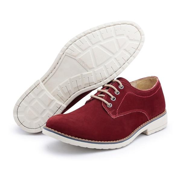 Sapato Casual Polo Full Vermelho