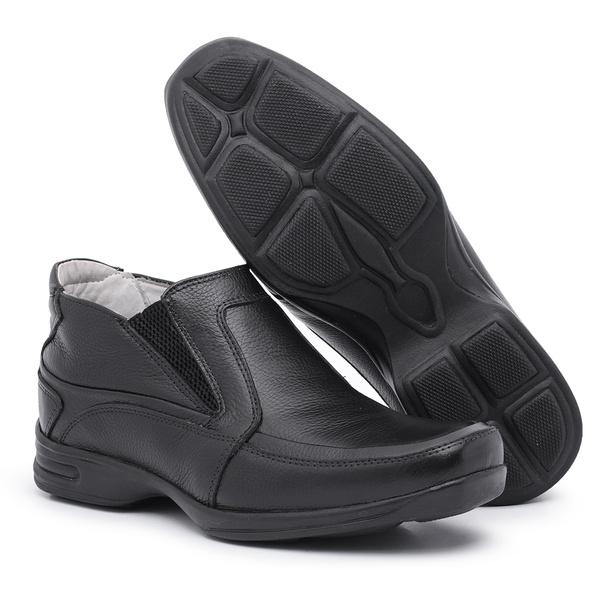 Sapato Masculino Anti-stress Preto