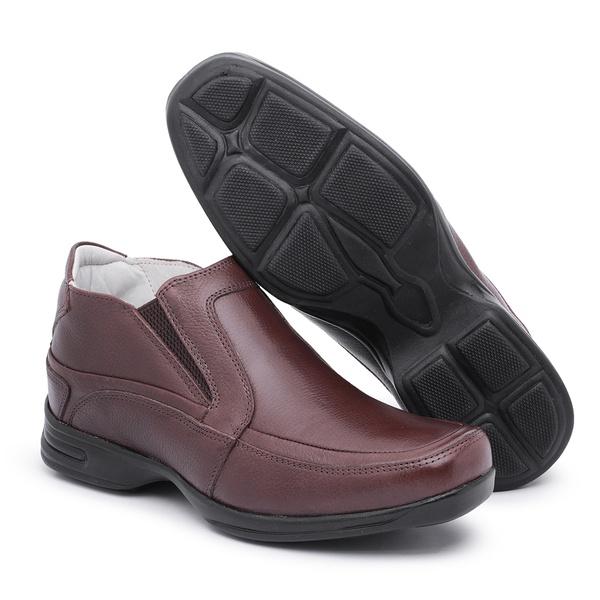 Sapato Masculino Anti-stress Marrom