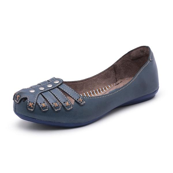 Sapatilha Conforto Bergally Azul Marinho