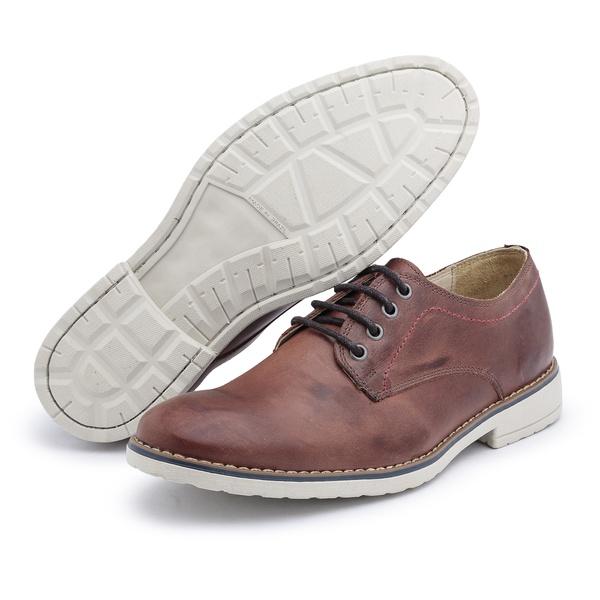 Sapato Polo Full Casual Marrom Fóssil
